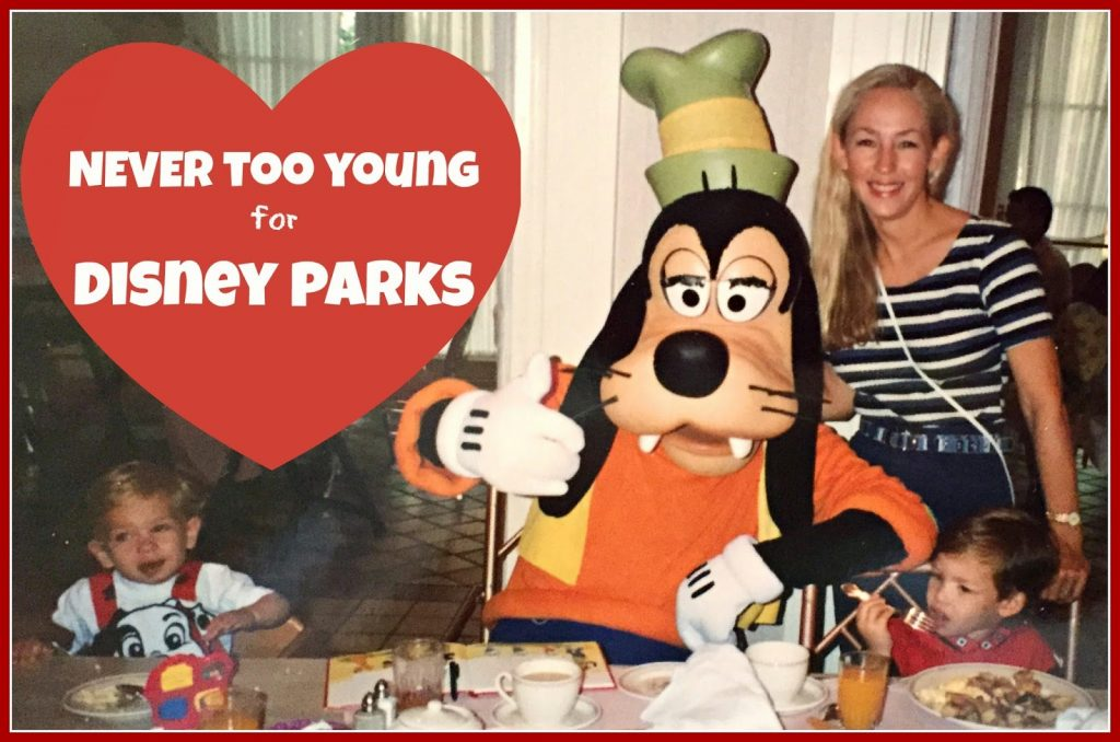 NEVER Too Young For Disney Parks