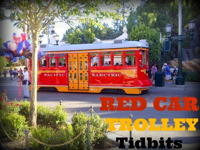 Red Car Trolley Tidbits