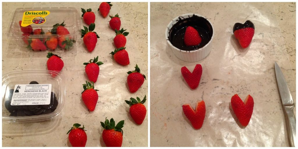 Mickey Mouse strawberries