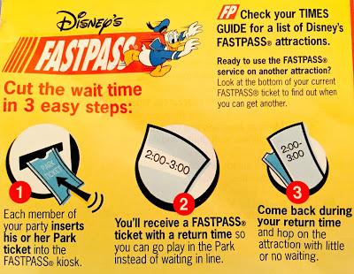 Disney's FASTPASS