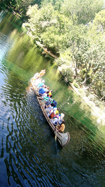 Disneyland's Rivers of America