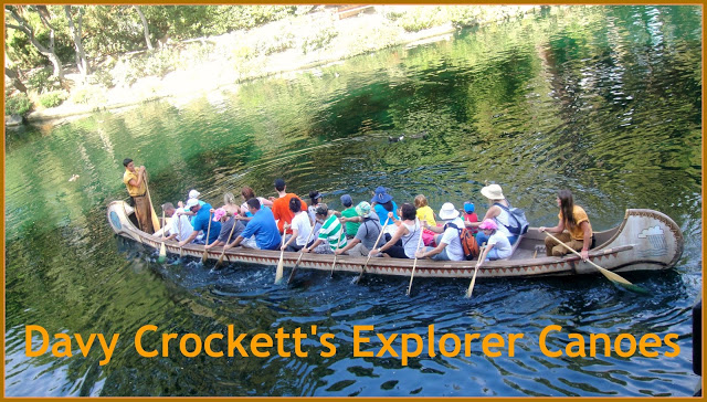 Davy Crockett's Explorer Canoes