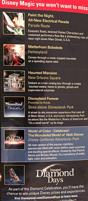 Disneyland Diamond Celebration Park Map