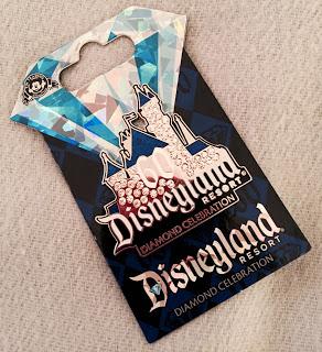 Disneyland Diamond Celebration Pin