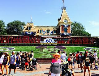 Disneyland Diamond Celebration Signage