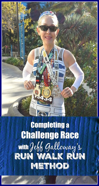 Completing a Challenge Race with Jeff Galloway's Run Walk Run Method