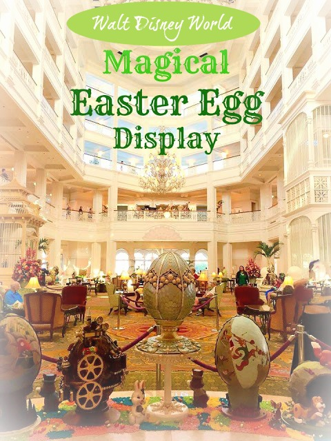 Magical Easter Egg Display at Disney's Grand Floridian Resort & Spa
