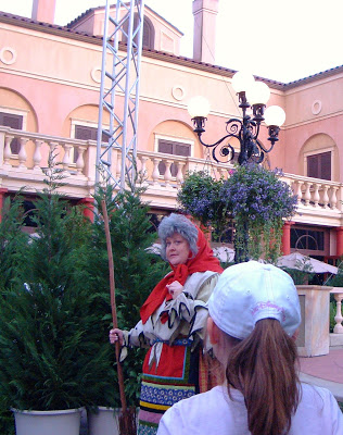 Tour Epcot's Italy Pavilion during Epcot International Festival of the Holidays