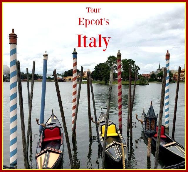 Tour Epcot's Italy Pavilion
