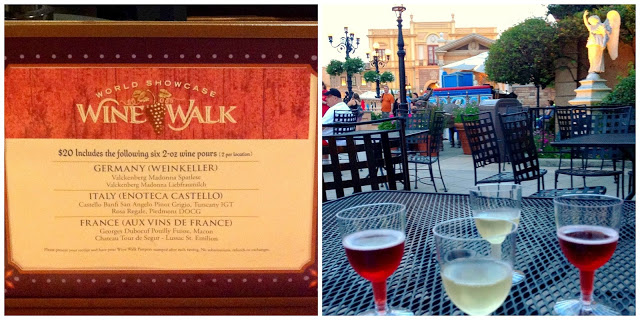 Epcot Wine Walk