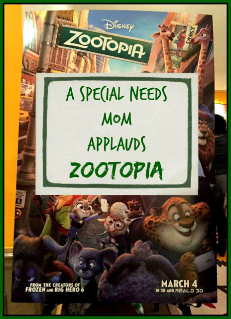A Special Needs Mom Applauds the Message of Disney's Zootopia