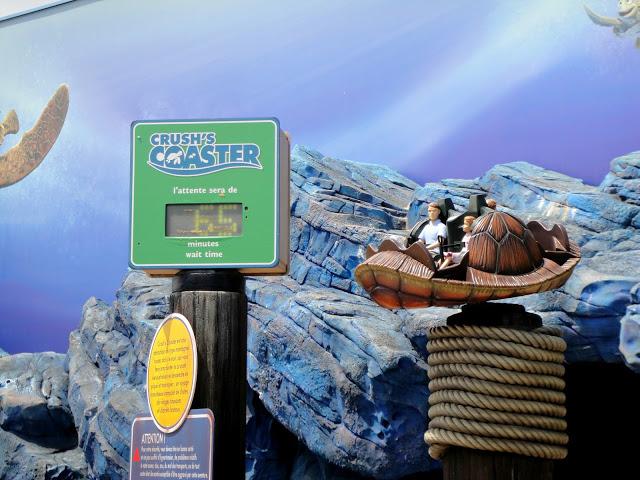 Disneyland Paris Crush's Coaster