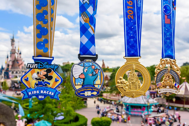 Voila! Inaugural Disneyland Paris – Val d'Europe Half Marathon Weekend Medals Revealed
