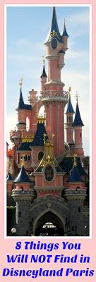 8 Things Americans Will NOT Find in Disneyland Paris