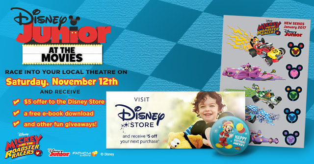 Disney Junior at the Movies Giveaway