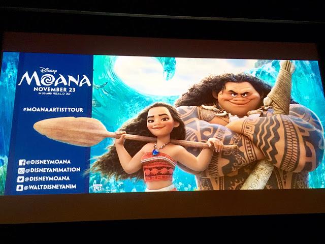 Disney's Moana Artist Tour