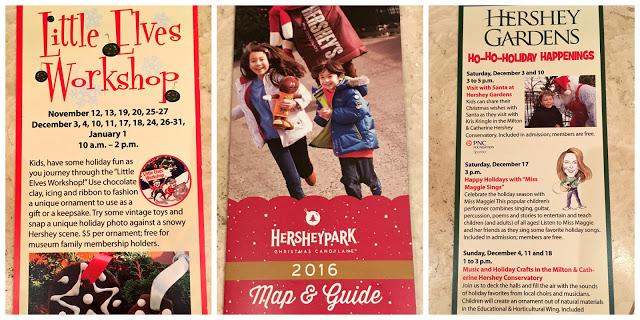 Hersheypark Christmastime, Hershey Gardens Christmas