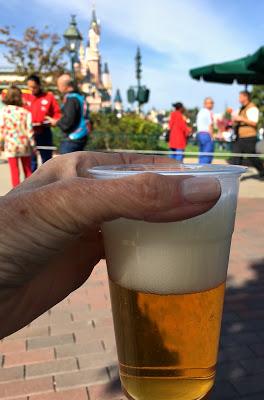 Alcohol in Disneyland Paris