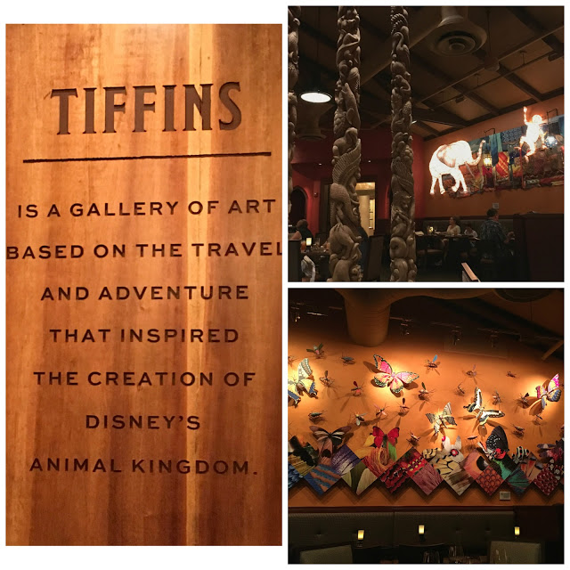 Tiffins decor and storytelling