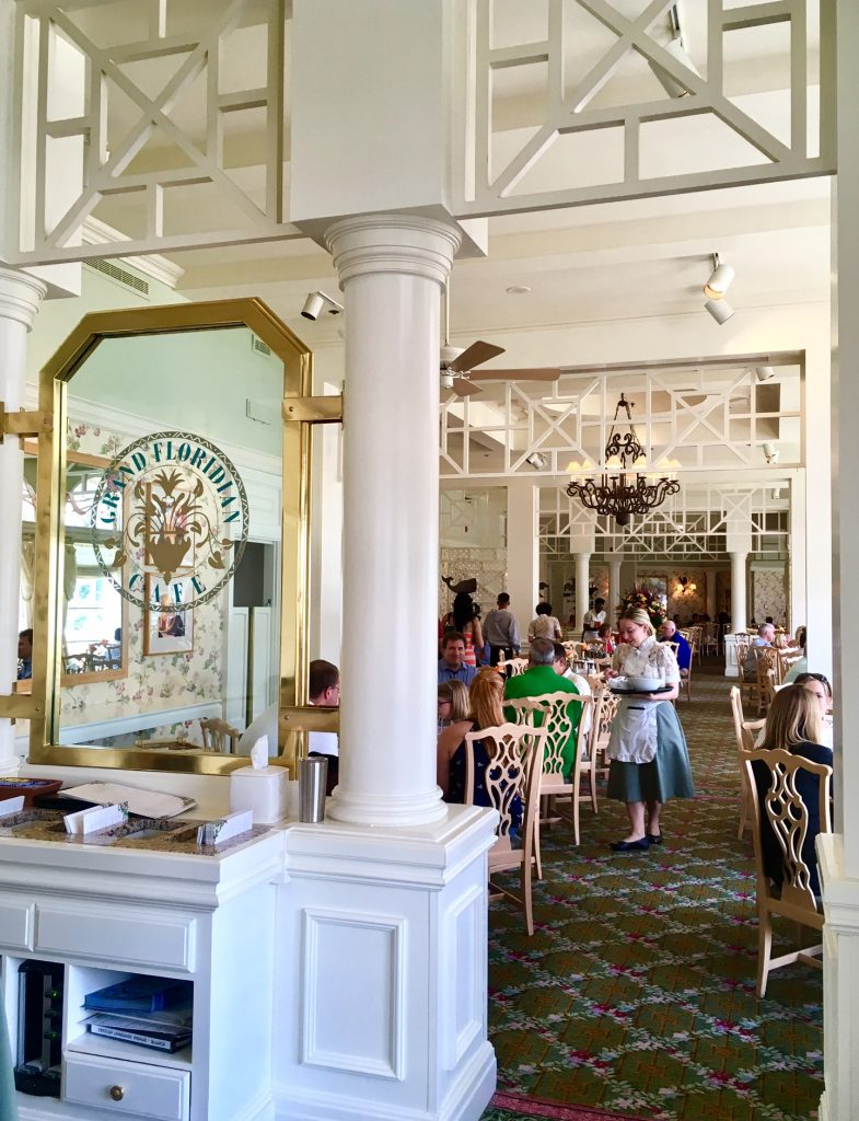Everyday Brunch at the Grand Floridian Cafe