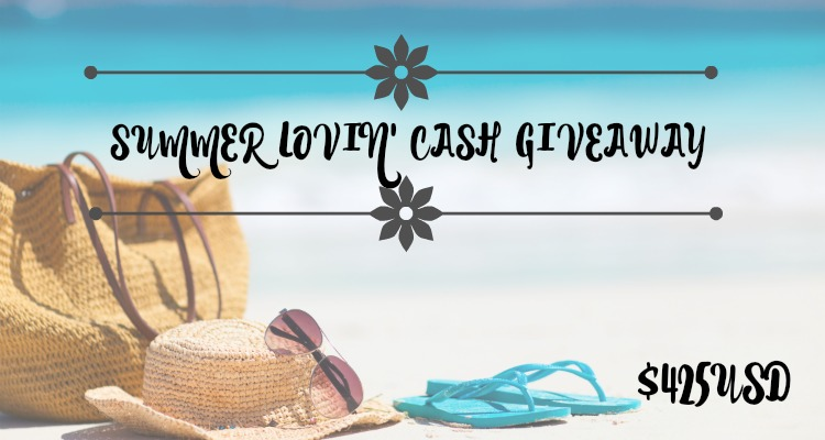Yay Summer Lovin' Cash Giveaway