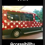 The Disney Minnie Van- Wheelchair Accessible Version