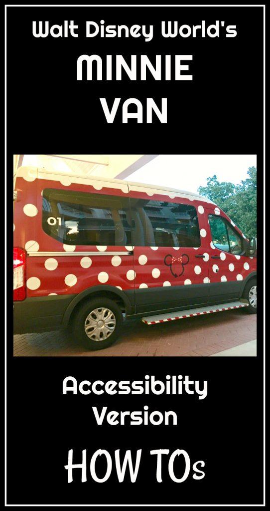 The Disney Minnie Van- Wheelchair Accessible Version