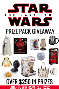 Find the Force With a Star Wars: The Last Jedi Giveaway