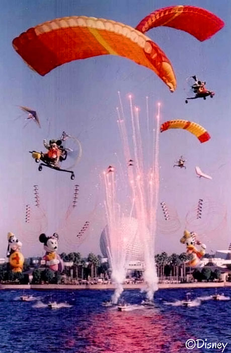 Epcot ~ Surprise In the Skies