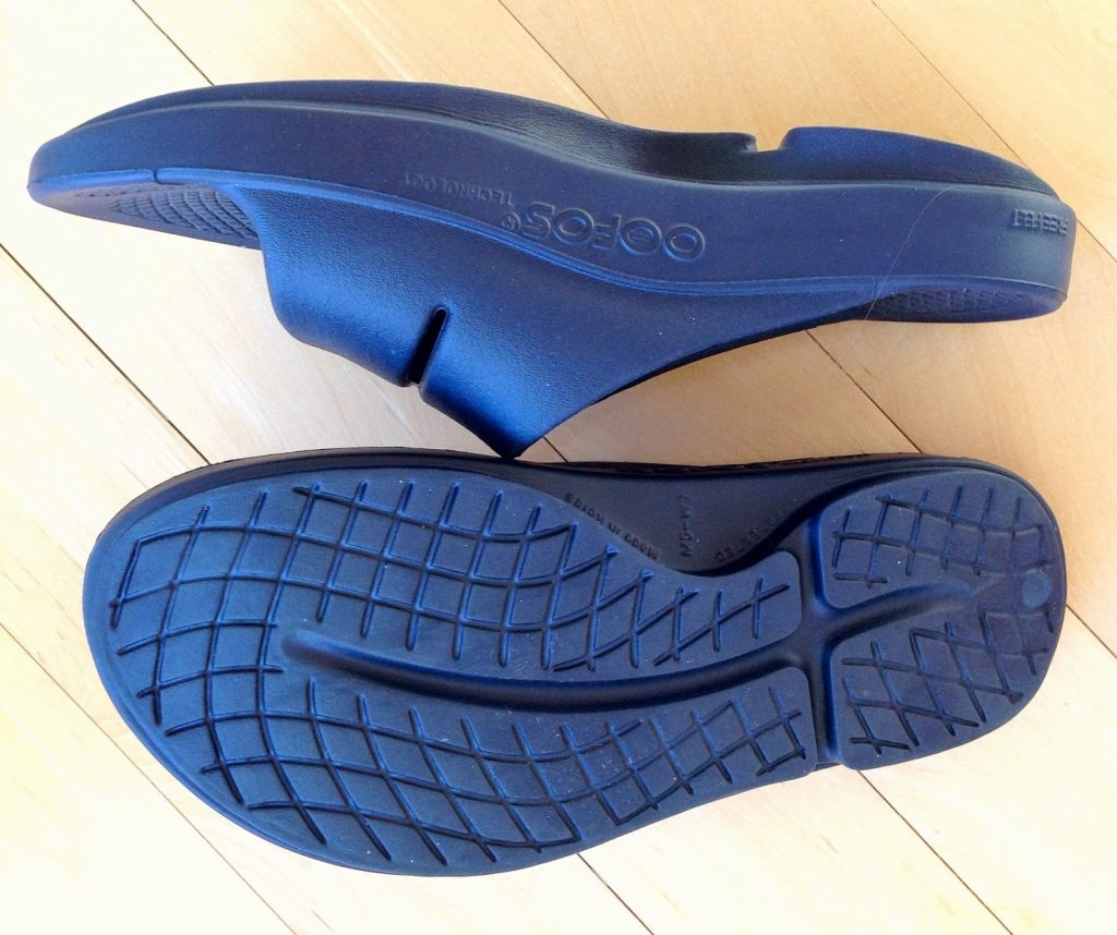 OOFOS rocker sole