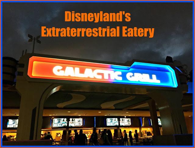 Disneyland's Galactic Grill