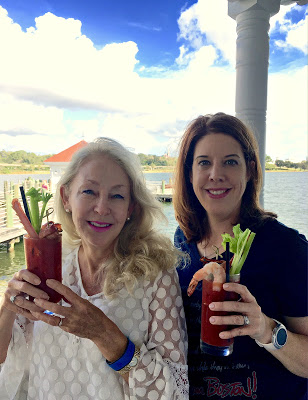 Narcoosee's Waterfront Brunch Signature Bloody Mary