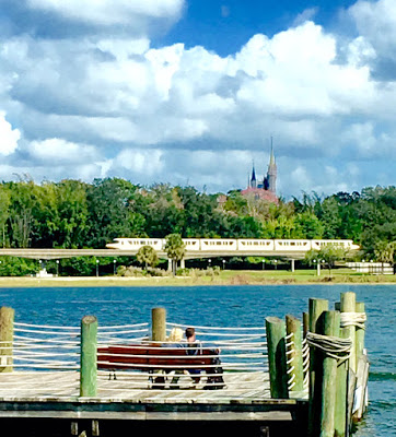 Cinderella Castle and Monorail