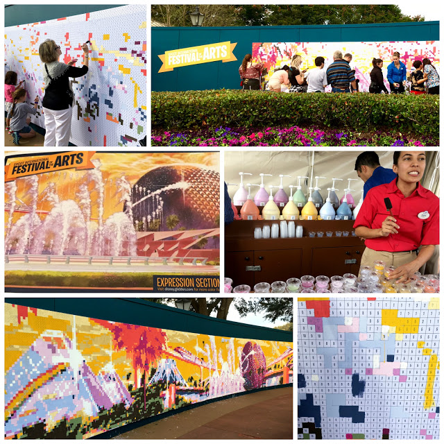 Epcot International Festival of the Arts Mural
