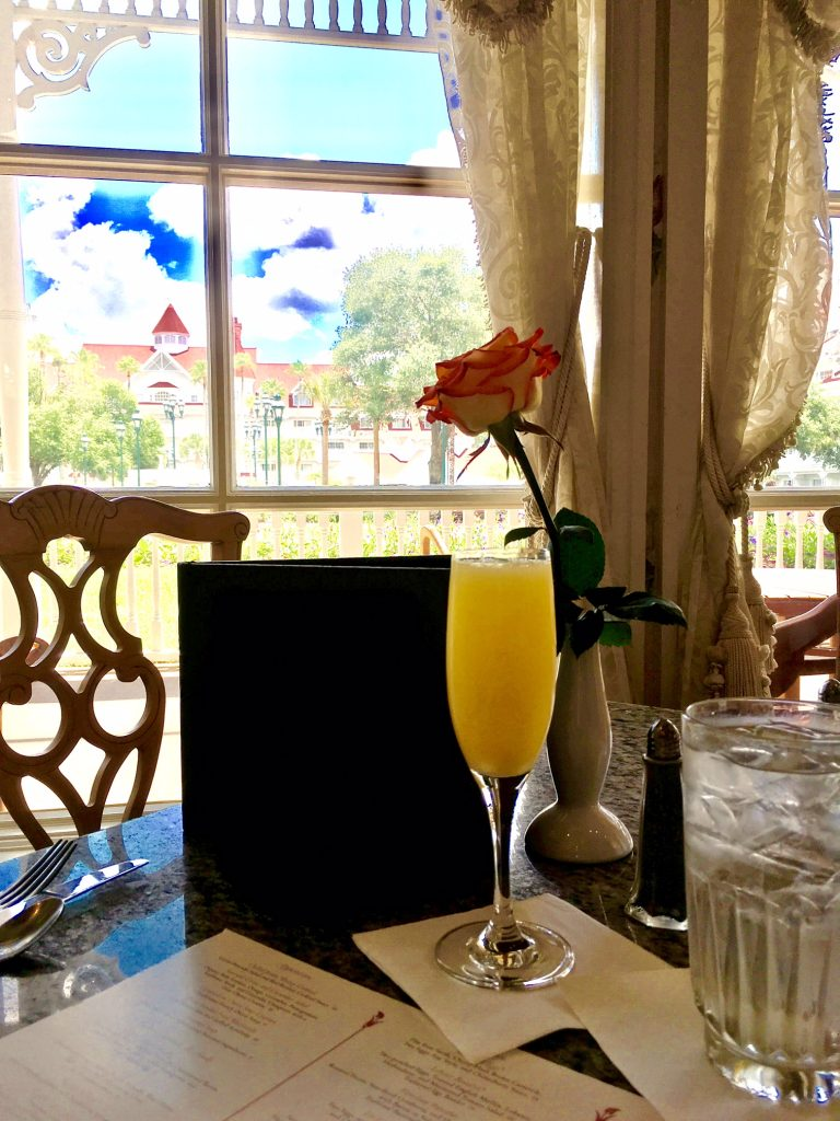Grand Floridian Cafe Brunch Every Day