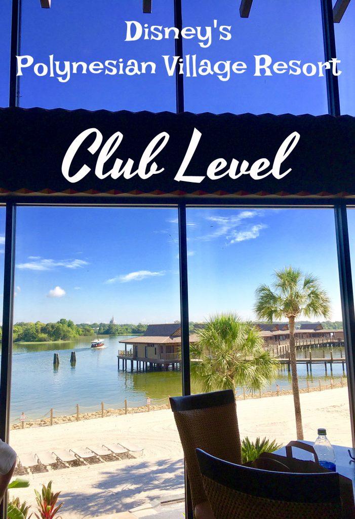 Seven Seas Lagoon view from Disney's Polynesian Village Resort Club Level