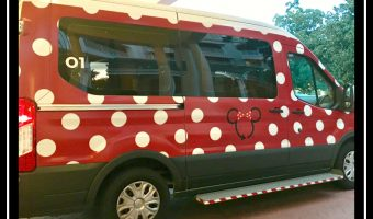 The Disney Minnie Van – Wheelchair Accessible Version