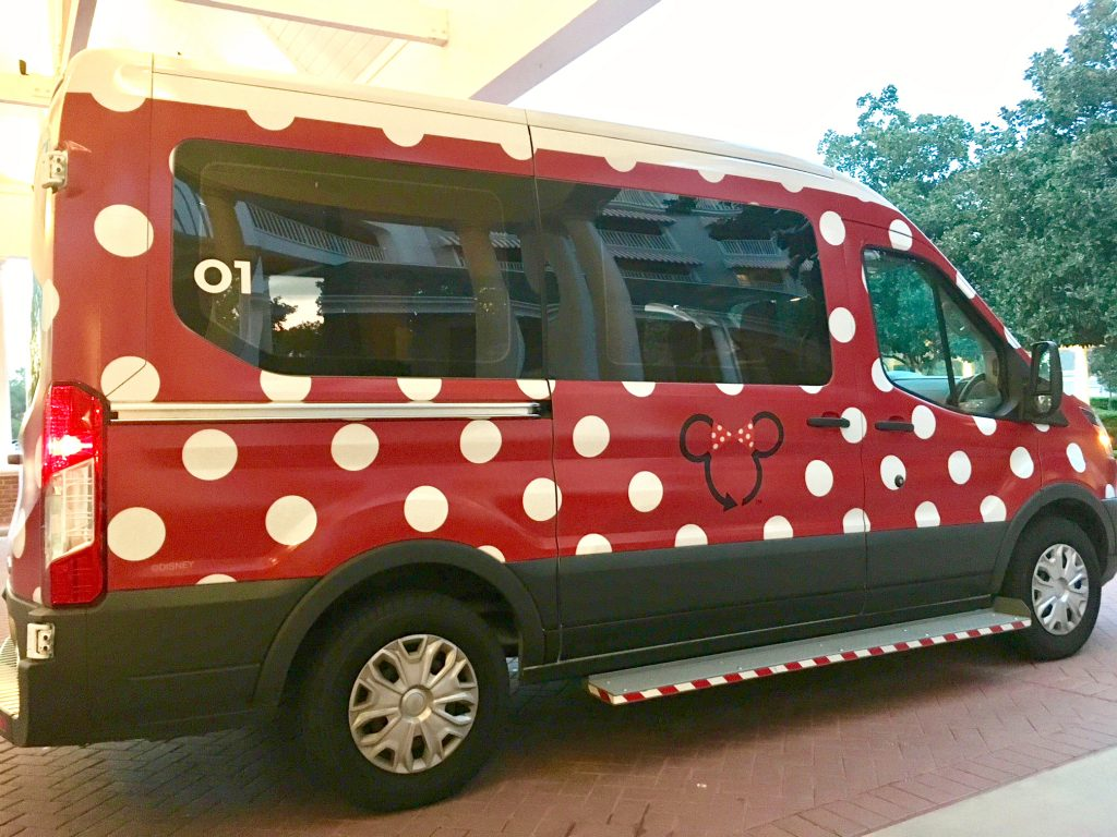 Disney Minnie Van Wheelchair Accessible Version