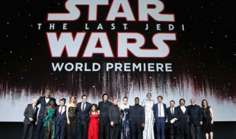 Scenes From the World Premiere of Star Wars: The Last Jedi