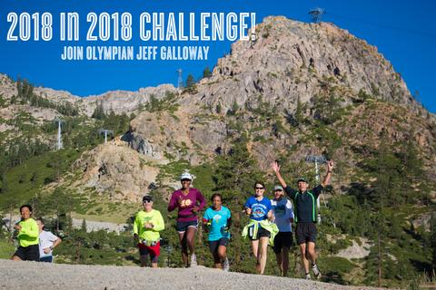 Jeff Galloway's 2018 in 2018 Challenge