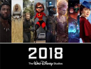 Walt Disney Studios Motion Pictures Highlights in 2018