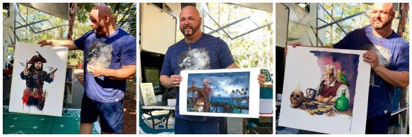 Disney Master Artist Kevin-John
