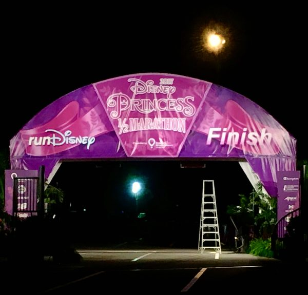 Disney Princess Half Marathon Finish Line 2017