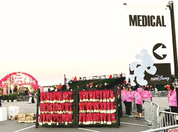 Disney's Princess Half Marathon Finish Line Medical Area