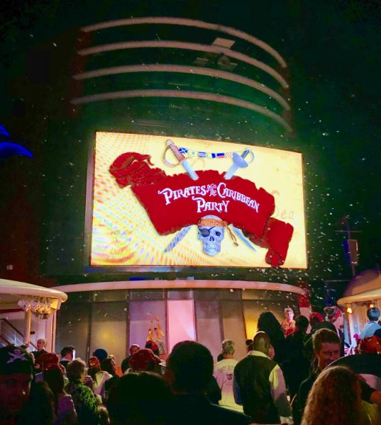 Pirates of the Caribbean Deck Party on Disney Cruise Line