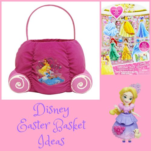 Disney Easter Basket Essentials Fit for a Princess or Queen