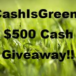 Worldwide The #CashIsGreener $500 Cash #Giveaway