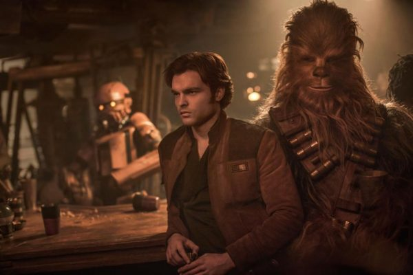 Han Solo meets Chewbacca