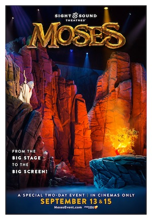 epic musical drama moses