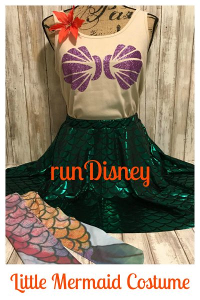 runDisney Little Mermaid Costume